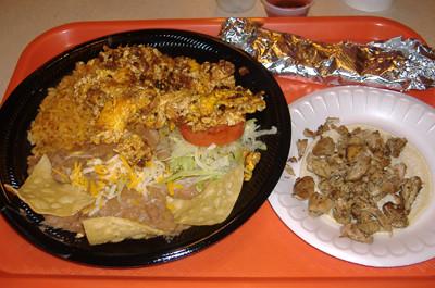 Taco Factory - Chorizo Platter