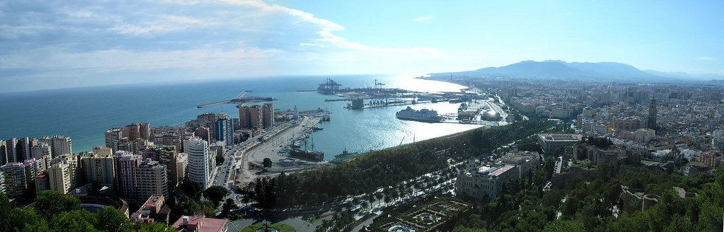 Malaga Panorama from the Castell