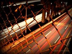 Bronx River Parkway (DanilynPhoto) Tags: longexposure ny night fence underpass highway long exposure overpass headlights fromabove mountvernon taillights brp westbroadstreet bronxriverparkway mountvernonnewyork