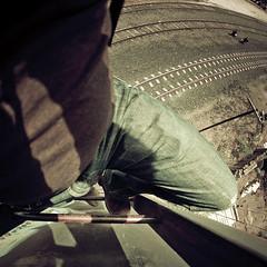 Climbing (Luis Montemayor) Tags: railroad feet square pie mexico foot stair explore pies escaleras realdecatorce cuadrado dflickr luismontemayor dflickr180307
