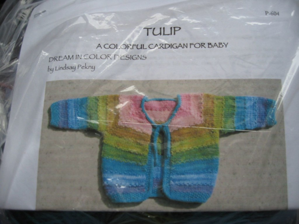Dream in Color Tulip Cardigan Kit