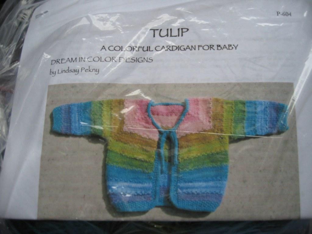 Dream in Color Tulip Cardigan Kit