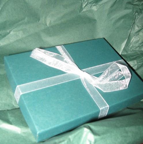 Pretty box with jewelry from Jennifer Casady