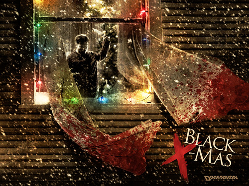 Black Xmas Wallpaper