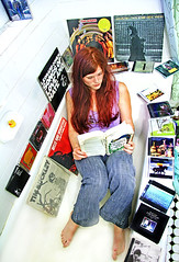 How I Spend My Sundays (kirstiecat) Tags: bathroom reading books albums rubberducky bathtub cds goodreads seeyourenottheoppositeofphotogenicanymore