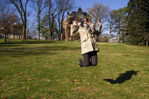 Olivia jumping