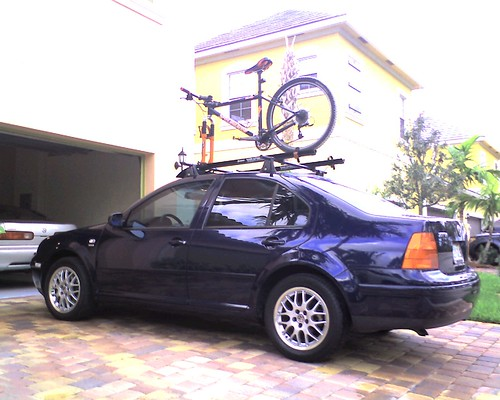 Bike, rack, car