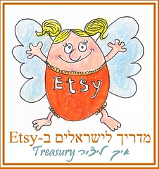 Etsy for Hebrew readers - Guide to creating a Treasury