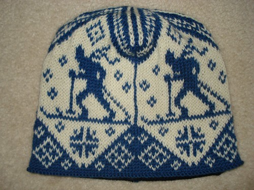 Norwegian Skier Hat done