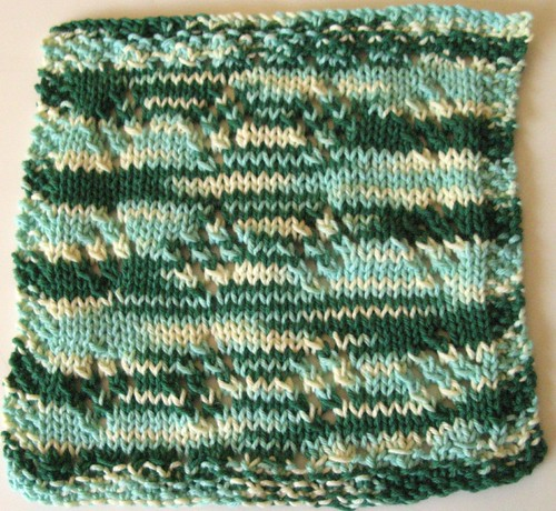 2008 Jan Mid-Month Dishcloth KAL