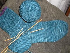 spiral rib sock
