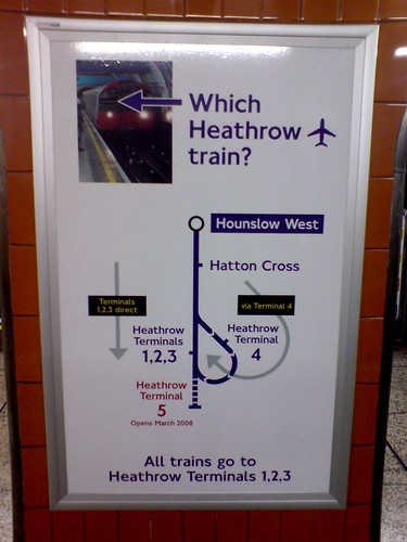 Which Heathrow Train? by Martin Deutsch