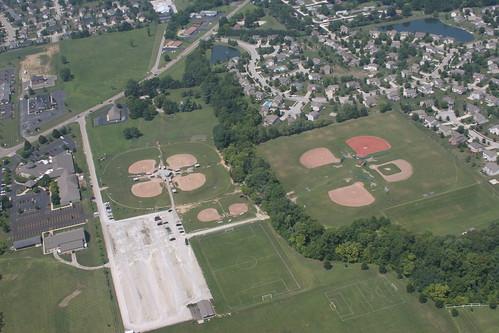 PYAA Sports Complex, Pickerington, OH - Aerial