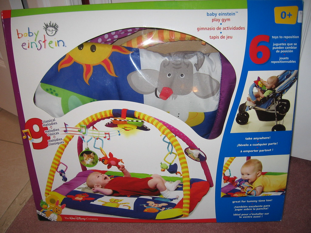 Baby Einstein Play Gym $40