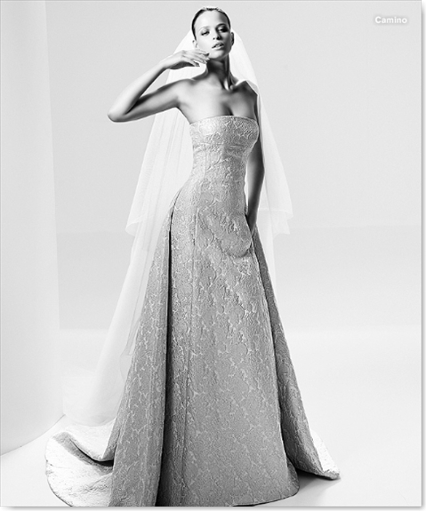 Vestidos de novia Pronovias - Vintage - Camino001