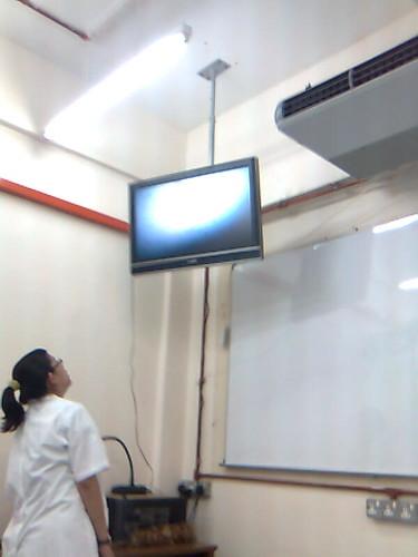 New LCD in bio lab