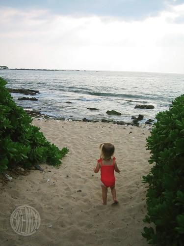 a secret beach!