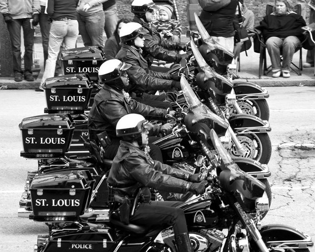 St. Louis Motorcycle Cops