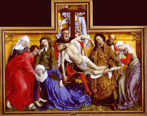 """El descendimiento"""" de Roger van der Weyden"""