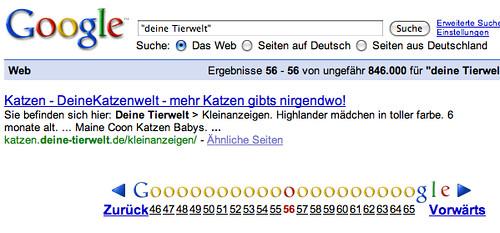 Google Duplicate Results?
