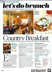 Page Six Brunch article full