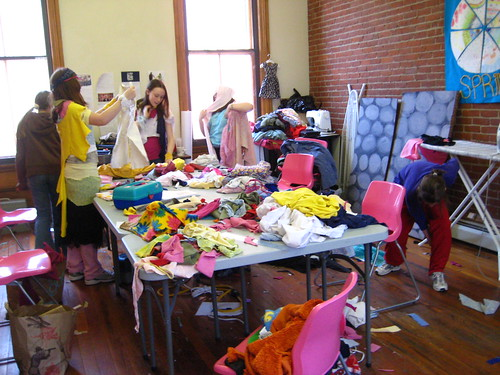 Eco-Quilts Clothing Swap