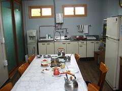 Waegwan Abbey Guest Dining Room