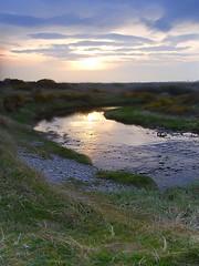 River (RamaBlue) Tags: uk greatbritain sunset reflection water wales clouds river coast europe unitedkingdom cymru gb pwllheli diamondclassphotographer flickrdiamond