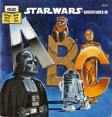 Star Wars Adventures In ABC: Cover (sciencensorcery) Tags: kids starwars books 80s r2d2 1984 childrens darthvader eighties c3po wicket ewoks