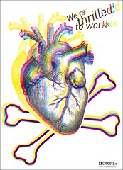 """We're thrilled to work"" adv for NeoHead mag (civico_13) Tags: love illustration work design amazing ship heart graphic flag nave pirate bone cuore amore jollyroger pirata grafica adv thriller lavoro pubblicit bandiera ossa registro cmyk iheartyou innamorato thriling stupefacente nicetopleaseyou piaceredipiacerti fuoriregistro"
