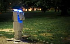 may_night_milano-1 (christianisthedj) Tags: blue light parco grass night shot milano tubes natt bilde sempione