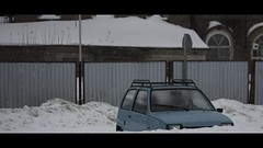 (_cher) Tags: russia izhevsk winter snow depression car urban mft olympus m43 169