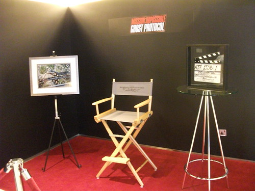 mission impossible ghost protocol 2011. Mission Impossible: Ghost Protocol Display