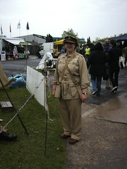Elvington 2011 035 (I Poper) Tags: female army wwii britisharmy prettygirl kd wartime ats yorkshireairmuseum womeninuniform womenatwar warweekend womensmilitarycap elvington2011