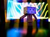 iPhone Light Painting (greenplasticamy) Tags: light lightpainting painting lumix japanese robot amazon paint box mini panasonic cardboard micro 20mm 43 iphone kaiyodo miura yotsuba danbo amazoncojp gf1 mft revoltech hayasaka danboard micro43 microfourthirds minidanboard minidanbo miurahayasaka dmcgf1