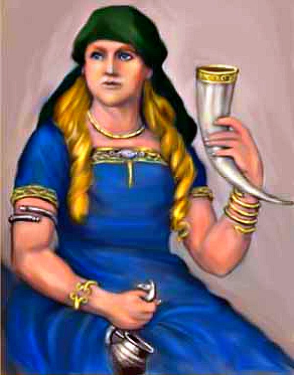 not Fergie, but the golden-haired wife of the god Thor