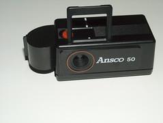 Ansco 50 (QsySue) Tags: camera film toy small 110 toycamera spycamera 110film ansco50