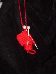 Knitters Swatch Ornament