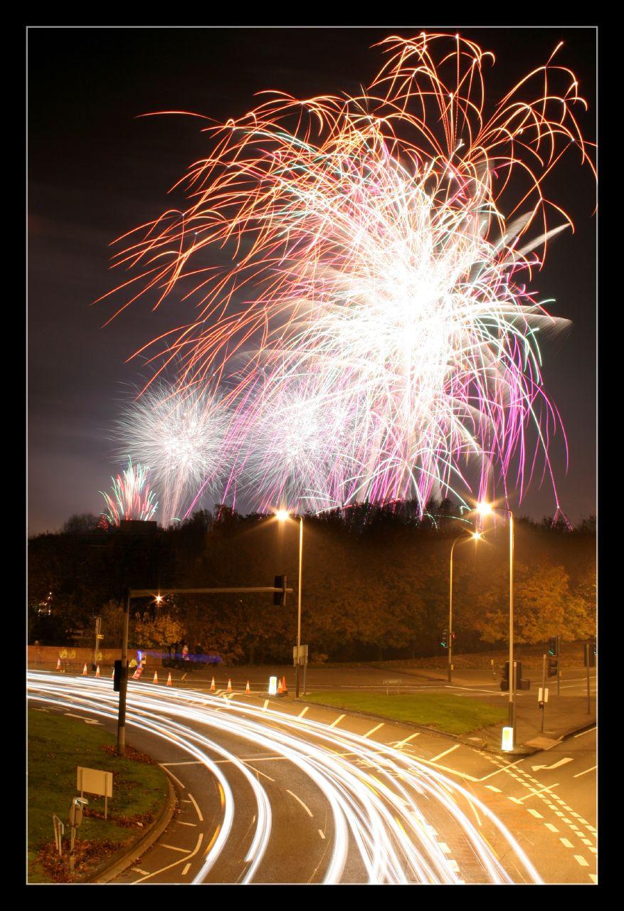 Abbey Park fireworks