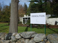 alice ball demolition notice 11/8/07