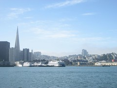 SF from Sausalito Ferry