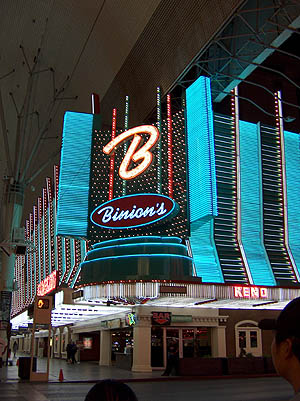 Binion's : Las Vegas : October 2007