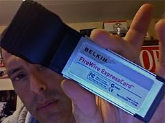 Belkin FireWire ExpressCard F5U505