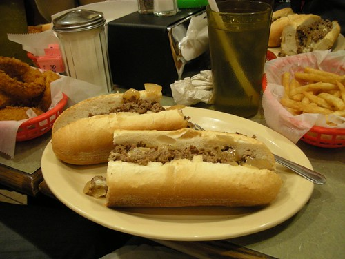 12 inches of cheesesteak
