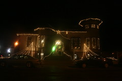 Santa's Castle (RedheadRaye) Tags: christmas lights stormlake santascastle