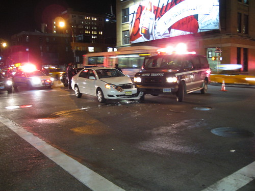 NYPD Traffic incident