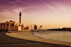 Under the Purple Sky (Khaled A.K) Tags: sea canon jeddah saudiarabia jiddah eos400d aplusphoto