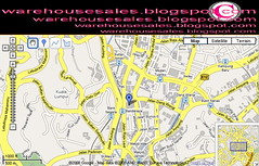 Sogo Shoes & Leathergoods Gala Fair Malaysia 2008 Map