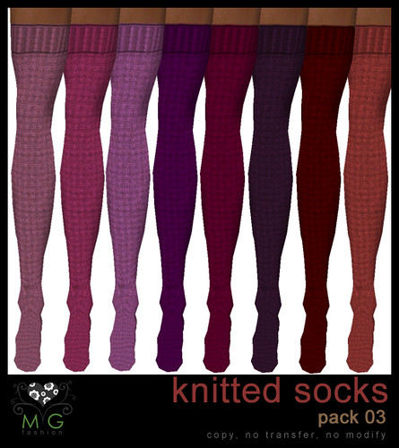 [MG fashion] Knitted socks (pack03)