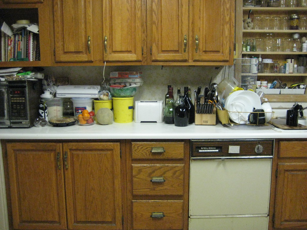 Clean Kitchen at My Parents'